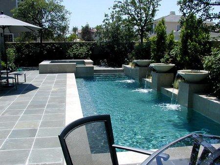 Orçamento de piscinas e construção de piscina de vinil, fibra ou alvenaria - Piscina de Alvenaria